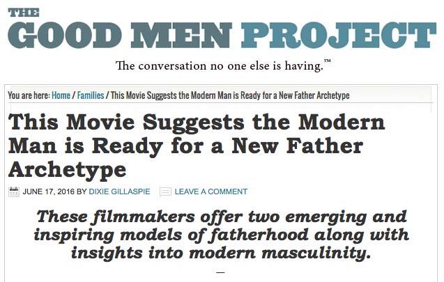 Good Men Project Interview